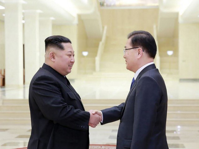 Les dirigeants des deux Corées reliés par un téléphone rouge