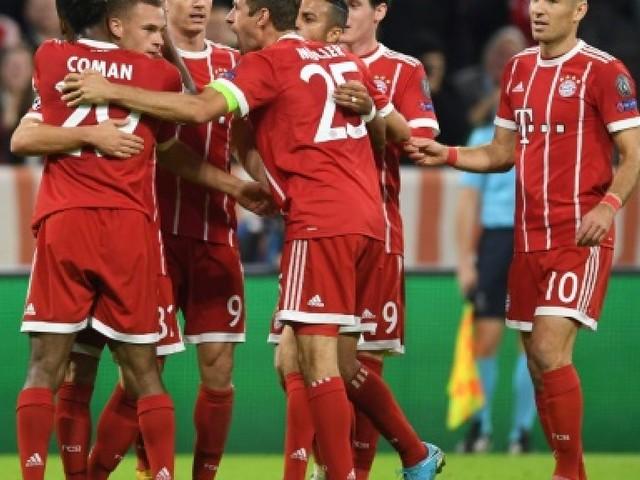 Ligue des champions: le Bayern de Heynckes souverain contre le Celtic