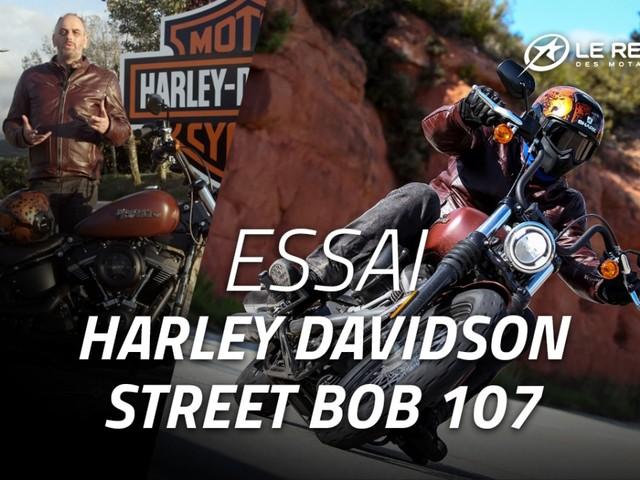 Essai Harley-Davidson Street Bob