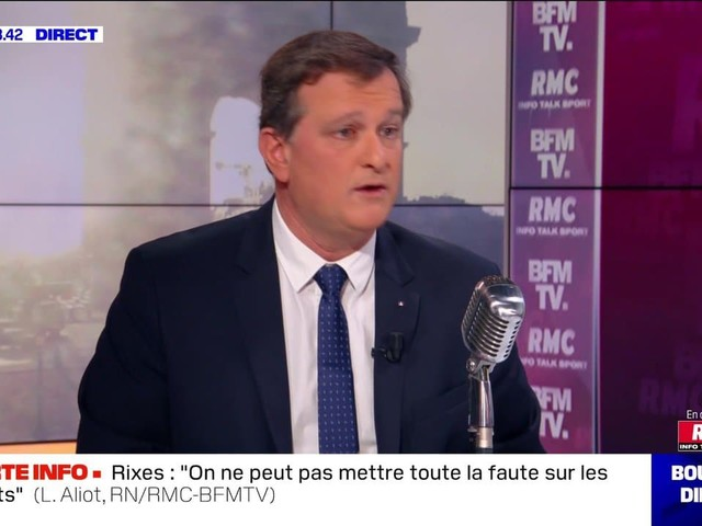 Louis Aliot face à Apolline de Malherbe en direct - 24/02