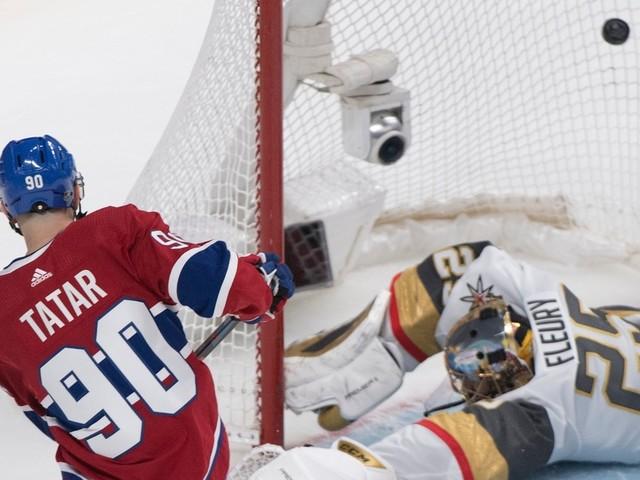 Golden Knights4 -Canadien5: deux points et puis s'en vont