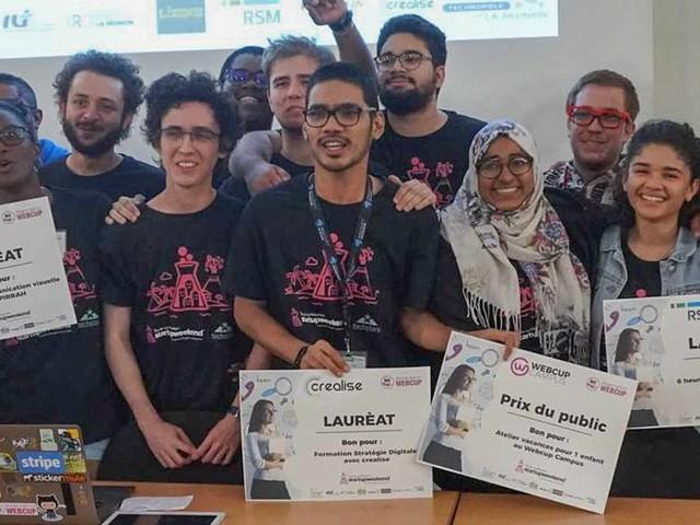 Un système de reconnaissance faciale, CertiFaced, remporte le Startupweekend