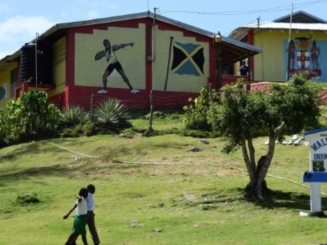 Athlétisme: à Sherwood Content, sur les traces de Bolt