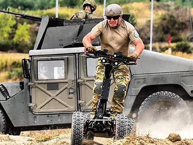 L'armée américaine se met à la trottinette électrique