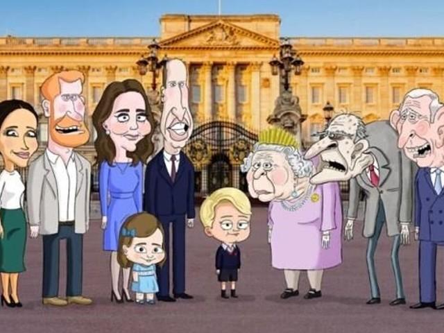 """Meghan Markle en """"tante moderne"""" dans une série parodique HBO"""
