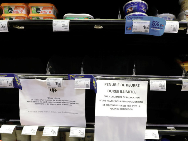 Ce que la pénurie de beurre raconte en vrai