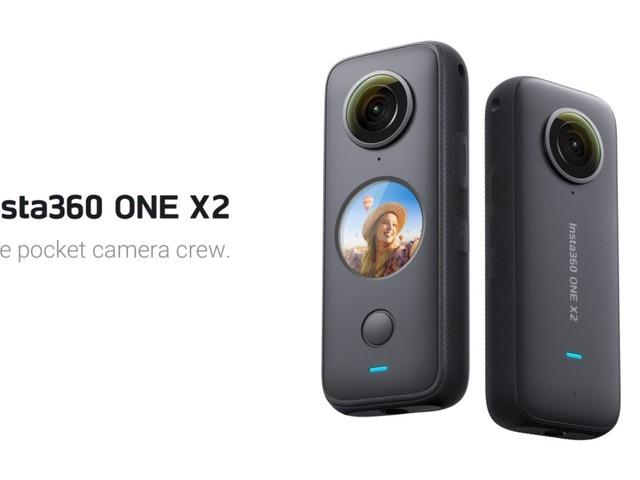 La Insta360 ONE X2 ajoute un écran tactile, et devient étanche