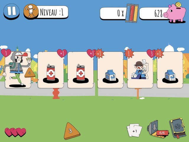 Combats, cartes et humour, le mélange réussi de Knights of the Card Table, nouveau jeu iPhone, iPad