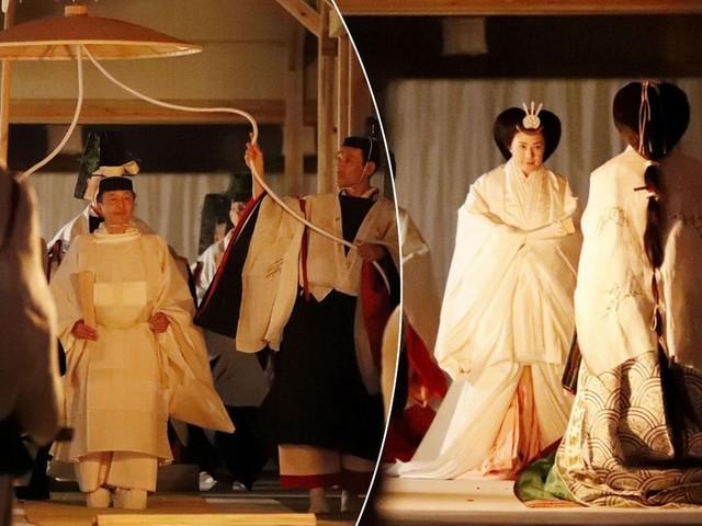 Naruhito et Masako ont rendu grâce à Amaterasu, la déesse du Soleil