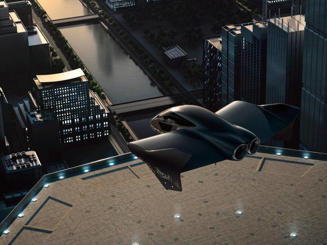 Porsche et Boeing s'associent pour concevoir une voiture volante électrique