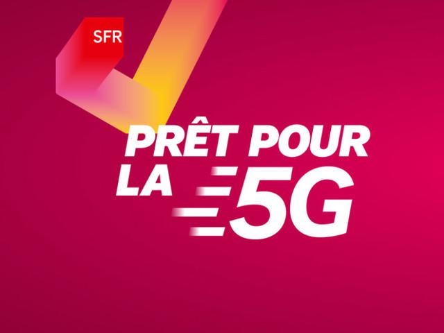 Même sans réseau, SFR commence déjà à vendre des smartphones 5G