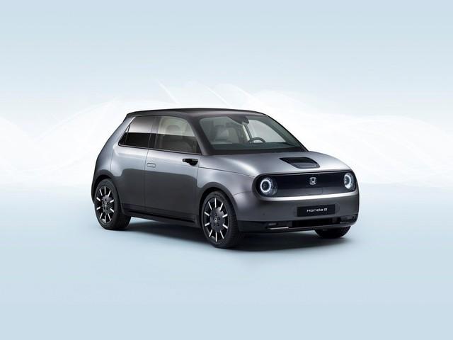 Honda E : le véhicule électrique annoncé en version finale au salon de Francfort