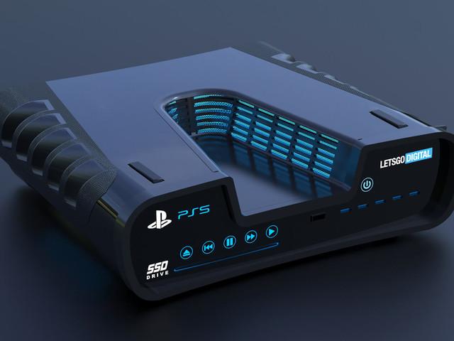 Le rendu du design de la PS5 donne vie à la supposée console