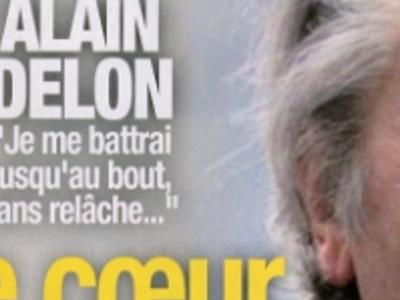 Alain Delon, coeur brisé par la maladie, son combat en coulisse