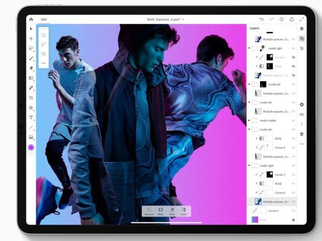 Adobe promet de nouvelles fonctionnalités pour Photoshop sur iPad en 2020