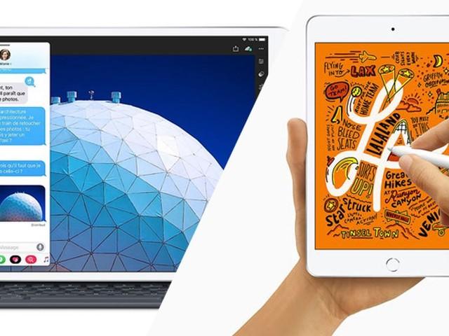 À la surprise générale, Apple vient de lancer deux nouveaux iPad