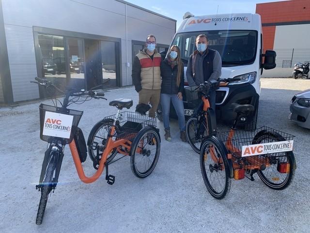 Barsac : l'association AVC-Tous concernés se lance dans la deuxième édition du « tour de la Gironde » à tricycle