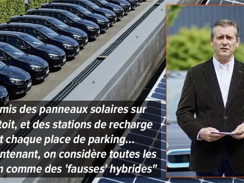 """Ce patron a transformé ses installations et sa flotte de voitures de société en 'plug-in hybrides': le gouvernement va bientôt faire """"une catastrophe"""""""