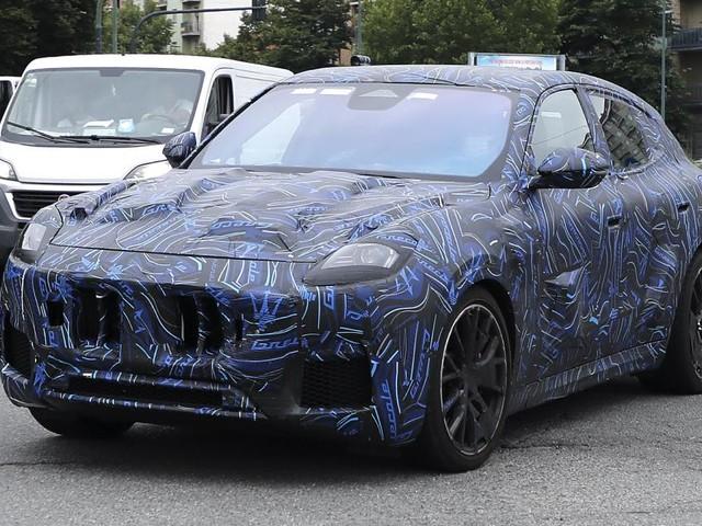 Maserati Grecale Trofeo (2022) : la plus performante des versions aperçue en Italie