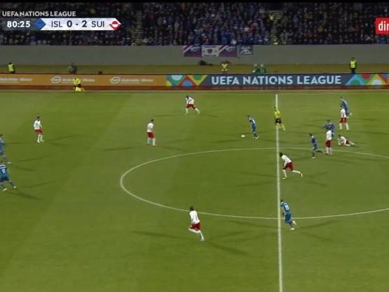 Foot - L. nations - Ligue des nations : tous les buts d'Islande-Suisse (1-2) en vidéo