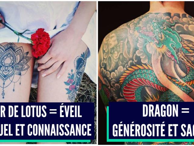 Top 12 des significations des tatouages japonais les plus courants, c'est mieux de savoir
