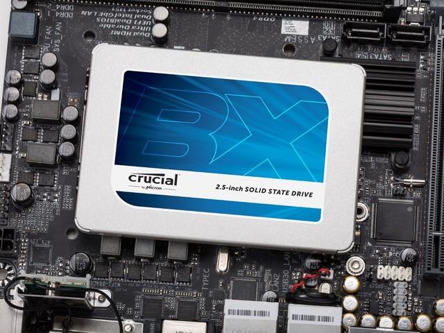 Crucial BX300 (240 Go) : le SSD à 68 euros seulement