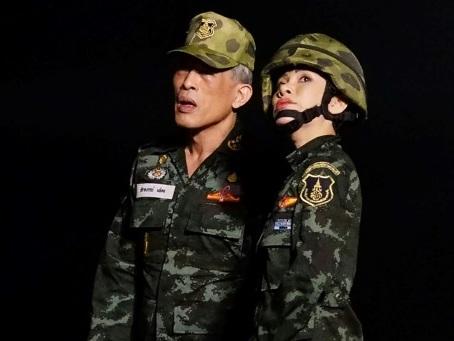 Thaïlande: le palais publie de rares images de la concubine officielle.