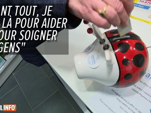 Philippe propose le concept de pharmacie solidaire à Gouy-lez-Piétons: comment ça marche?