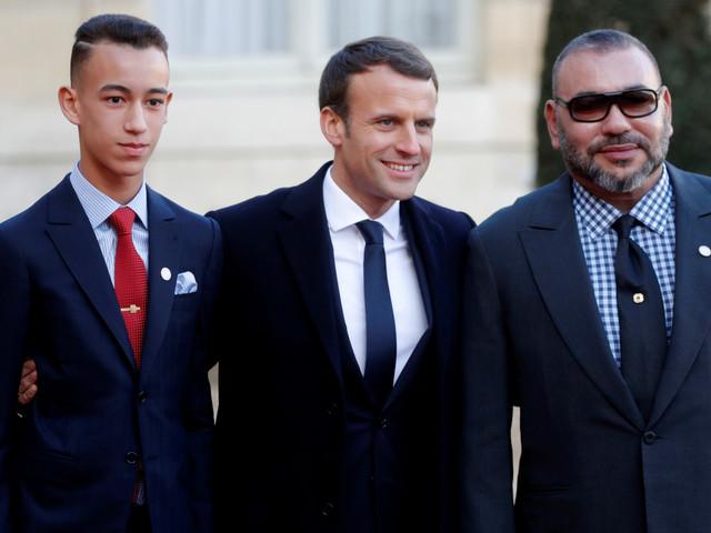 Le roi Mohammed VI et le prince Moulay El Hassan à l'Élysée pour le sommet mondial sur le climat (PHOTOS)