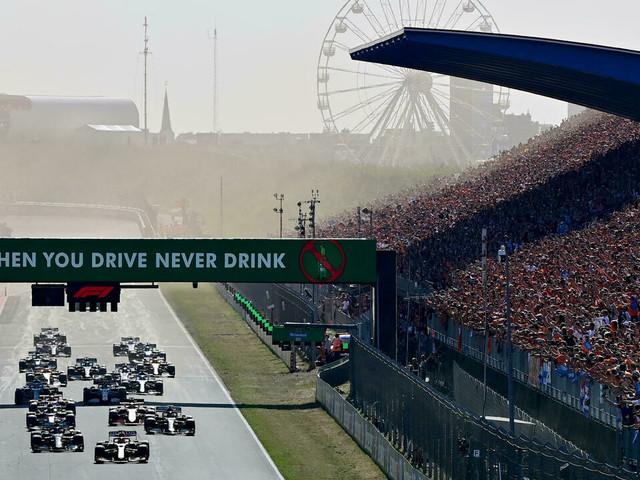 """GP des Pays-Bas: une ambiance """"dingue"""" et une pub """"fantastique"""" pour la F1"""