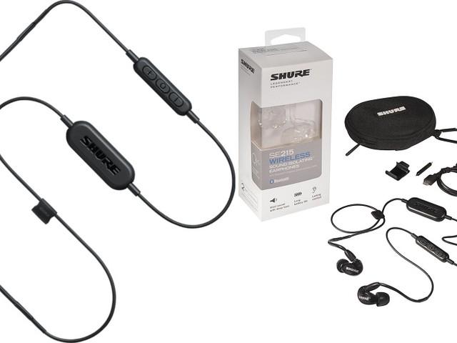 Shure lance ses intras sans-fil SE215 et SE112 Wireless