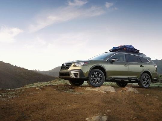 Etats-Unis: le cas particulier des breaks, avec un marché tenu par Subaru