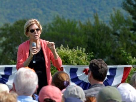 Primaire démocrate: la sénatrice américaine Warren derrière le favori Biden