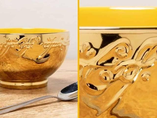 [TOPITRUC] Un bol avec les inscriptions du Seigneur des Anneaux, pour boire ton meilleur café