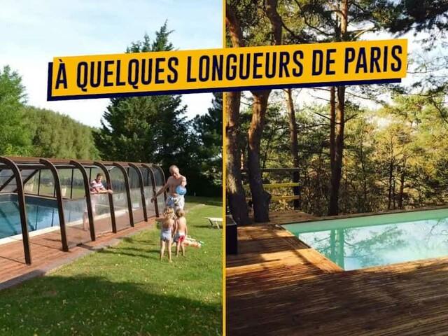 Top 40+ Airbnb avec les plus belles piscines proche de Paris, pour piquer une tête le temps d'un weekend (ou plus)