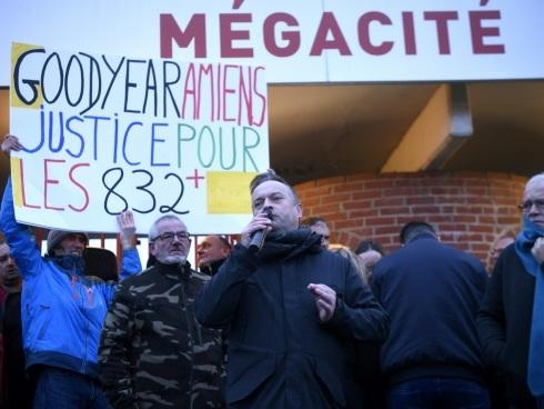 Amiens: six ans après leur licenciement, les ex-Goodyear de retour aux prud'hommes