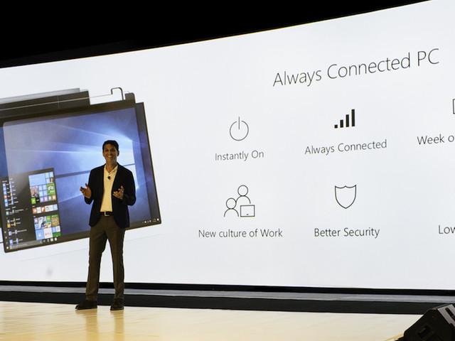 Windows 10 on ARM : pas de support de la charge rapide et sans fil
