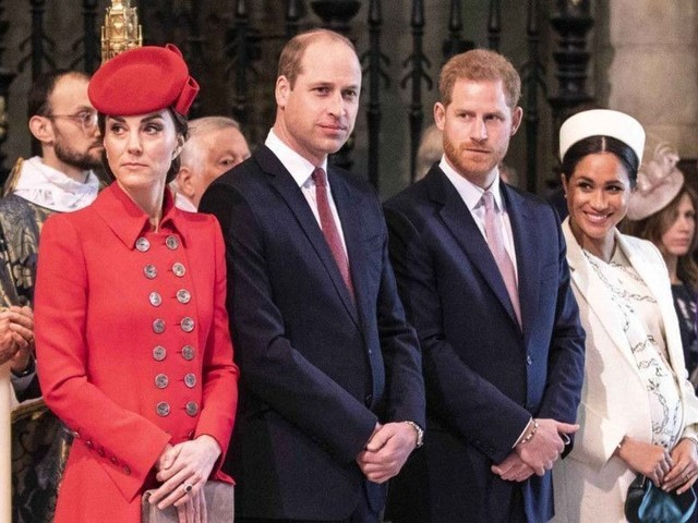 Harry et Meghan ne veulent plus travailler avec Kate et William !
