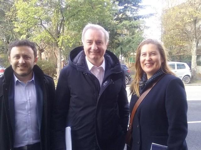 """Municipales à Toulouse : Jean-Luc Moudenc présente ses deux recrues """"sociales"""""""