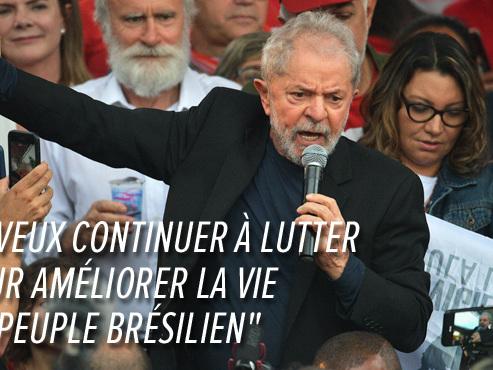 """Bolsonaro voulait le voir """"pourrir en prison"""": l'ex-président brésilien Lula a finalement été libéré (photos)"""