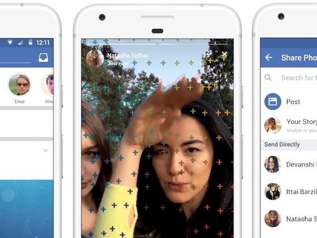 Facebook Stories : elles arrivent bientôt pour toutes les pages