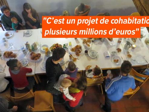 """Matthieu partage un jardin, un atelier et bien d'autres pièces avec ses voisins: """"Ça crée du lien social!"""""""