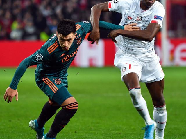 C1: Lille impuissant face à l'Ajax