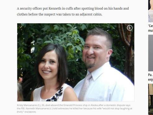 """Il tue sa femme car elle """"n'arrêtait pas de se moquer"""" de lui"""