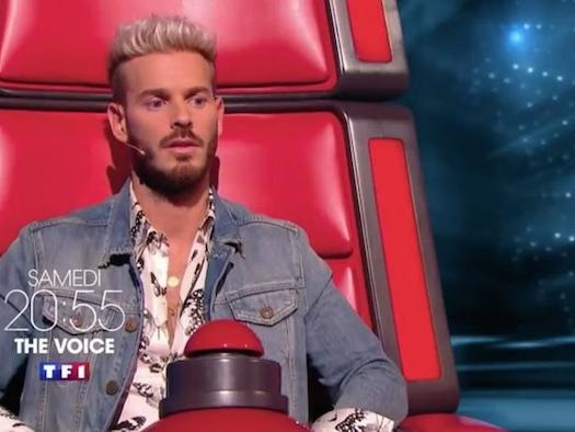 C'est officiel : Matt Pokora quitte « The Voice »