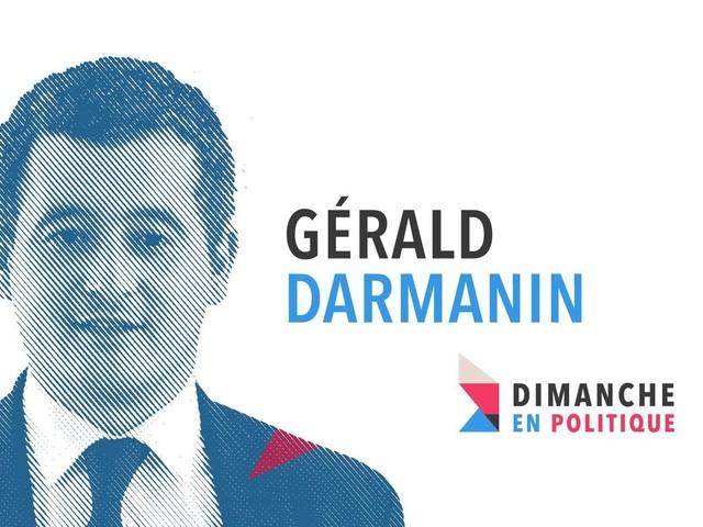 """Gérald Darmanin invité de """"Dimanche en Politique"""" ce week-end sur France 3."""