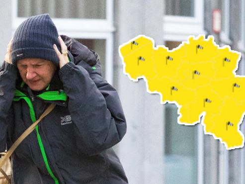 Météo: le vent s'abat sur la Belgique