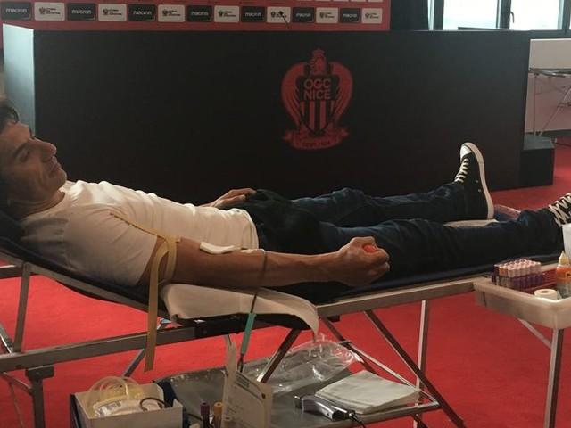 L'OGC Nice se mobilise pour le don du sang