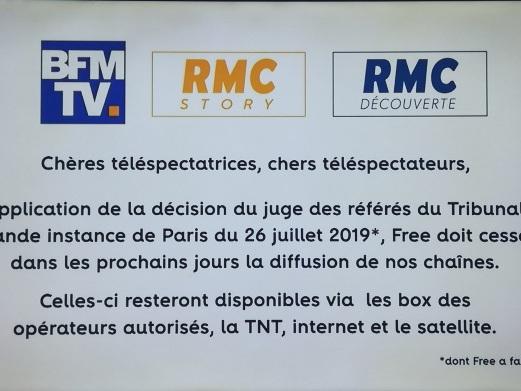 Bras de fer entre BFMTV et Free: selon Alain Weil, le problème n'est pas le coût de diffusion des chaînes