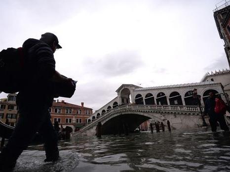 VIDÉO. Venise à nouveau sous les eaux